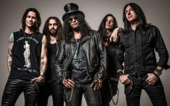Slash, Myles Kennedy & The Conspirators at Stubb's BBQ