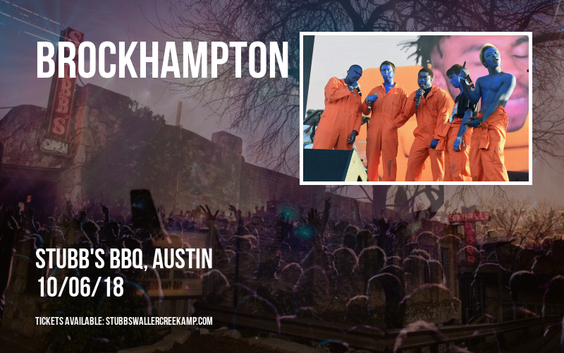 Brockhampton at Stubb's BBQ