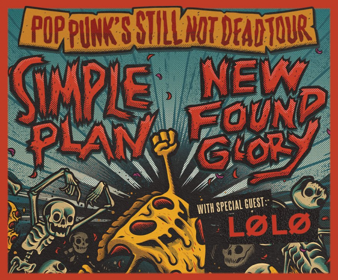 New Found Glory & Simple Plan at Stubbs BBQ Waller Creek Amphitheater