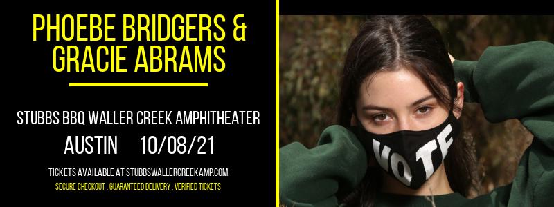 Phoebe Bridgers & Gracie Abrams at Stubbs BBQ Waller Creek Amphitheater
